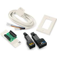 Bose Speaker Wire Adapter Kit for Bose 5.1/6.1-Channel Speaker Systems, Includes 7' Home Theater Speaker Cable, Speaker Plate, Cover Plate, Screw Kit