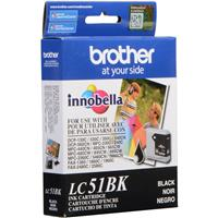 Brother Black Ink Cartridge for Many Inkjet Office Machines, 500 Page Yield.