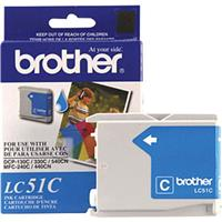 Brother Cyan Ink Cartridge for Many Inkjet Office Machines, 400 Page Yield.