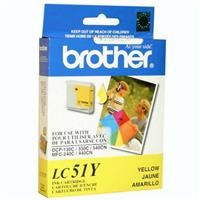 Brother Yellow Ink Cartridge for Many Inkjet Office Machines, 400 Page Yield.