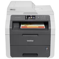Brother Brother MFC-9130CW Digital Color Wireless Multifunction Printer, 19ppm Print Speed, 600x2400dpi Print Res, 250 Sheet Paper Tray, USB/WiFi - Print, Copy, Scan, Fax