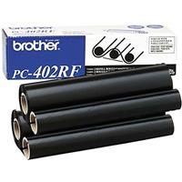 Brother 2-Pack of Refill Ribbon Rolls for PC-401 or PC-501 (approx. 150 pages for each roll)
