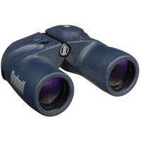 Image of Bushnell 7x50 Marine Water Proof Porro Prism Binocular with Rangefinder Reticle & Illuminated Compass, with 6.7 Degree Angle of View, U.S.A.
