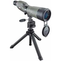 Image of Bushnell 20-60x65 Trophy Xtreme Straight View Spotting Scope, Waterproof and Fogproof, Green