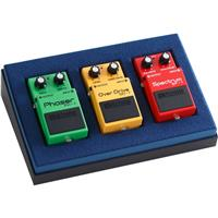 Image of Boss BOX-40 Compact Pedal 40th Anniversary Box Set, Includes OD-1 Over Drive Pedal, PH-1 Phaser Pedal and SP-1 Spectrum Pedal