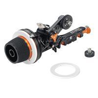 Image of Bright Tangerine Revolvr Atom Mini Kit, Includes 15mm LWS Core Bridge, Follow Focus Gear (0.8 Mod/35 Tooth/10mm), Follow Focus Gear (0.8 Mod/43 Tooth/6mm), Follow Focus Swing Arm (1:1 Ratio)