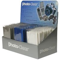"""Image of B + W 7x7"""" Photo Clear Microfiber Lens Cleaning Cloth, 48 Pieces"""