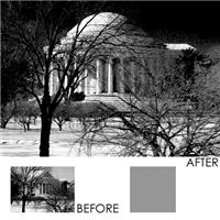 B + W 67mm Infrared Filter # 092 (89B/RG695) Wide Angle Slim Mount Glass Filter. Product image - 350