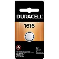 Duracell CR1616 Coin Cell Lithium Battery 3v, for Keyless Entry Systems and other Security and Electronic Devices
