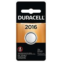 Duracell DL2016B Coin Cell Lithium Battery 3v, for Keyless Entry Systems and other Security and Electronic Devices