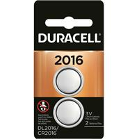 Duracell DL2016B Coin Cell Lithium Battery 3v, for Keyless Entry Systems and other Security and Electronic Devices (2-Pack)