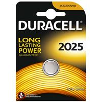 Duracell DL2025 Coin Cell Lithium Battery 3V for Keyless Entry Systems and Other Security and Electronic Devices