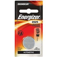 Energizer 2025 3V Keyless Lithium Coin Battery for Watches & Small Electronic Devices