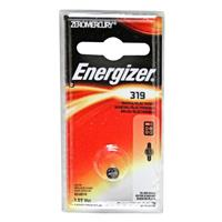 Energizer 319 1.5V Zero-Mercury Silver Oxide Battery for Watches, Toys, Glucose Monitors and Calculators
