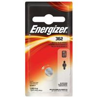 Energizer 362 1.5V Zero-Mercury Silver Oxide Battery for Watches, Toys, Glucose Monitors and Calculators