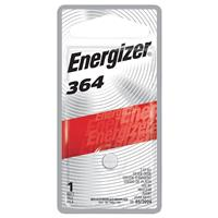Energizer 364 1.5V Zero-Mercury Silver Oxide Battery for Watches, Toys, Glucose Monitors and Calculators