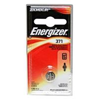 Energizer 371 1.5V Zero-Mercury Silver Oxide Battery for Watches, Toys, Glucose Monitors and Calculators