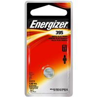 Energizer 395 1.5V Zero-Mercury Silver Oxide Battery for Watches, Toys, Glucose Monitors and Calculators