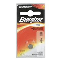 Energizer 397 1.5V Zero-Mercury Silver Oxide Battery for Watches, Toys, Glucose Monitors and Calculators