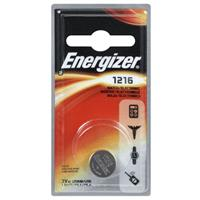 Energizer 1216 3V Lithium Coin Battery for Heart-Rate Monitors, Keyless Entry, Glucose Monitors, Toys and Games
