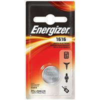 Energizer 1616 3V Lithium Coin Battery for Heart-Rate Monitors, Keyless Entry, Glucose Monitors, Toys and Games