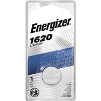 Energizer 1620 3V Lithium Coin Battery for Heart-Rate Monitors, Keyless Entry, Glucose Monitors, Toys and Games
