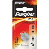 Energizer 1632 3V Lithium Coin Battery for Heart-Rate Monitors, Keyless Entry, Glucose Monitors, Toys and Games