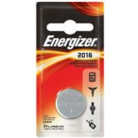 Energizer 2016 3V Lithium Coin Battery for Heart-Rate Monitors, Keyless Entry, Glucose Monitors, Toys and Games