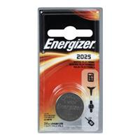 Energizer 2025 3V Lithium Coin Battery for Heart-Rate Monitors, Keyless Entry, Glucose Monitors, Toys and Games