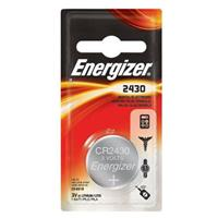 Energizer 2430 3V Lithium Coin Battery for Heart-Rate Monitors, Keyless Entry, Glucose Monitors, Toys and Games