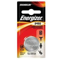 Energizer 2450 3V Lithium Coin Battery for Heart-Rate Monitors, Keyless Entry, Glucose Monitors, Toys and Games