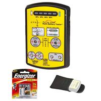 Image of ZTS Inc. Mini Multi-Battery Tester with Soft Case and 4x AAA batteries