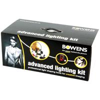 Bowens Advanced Lighting Accessory Kit with Softbox, Reflectors, Barndoors & Gels. Product picture - 1725