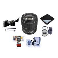 Image of Canon EF-S 15-85mm f/3.5-5.6 USM IS Image Stabilized AF Lens Kit, U.S.A. - Bundle with 72mm UV Wide Angle Filter, Lens Cleaning Kit, Flex Lens Shade, Lens Wrap (15x15), Cap Leash, Mac Software Package