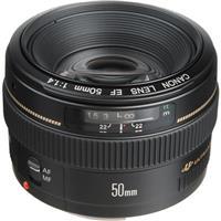 Canon EF 50mm f/1.4 USM Standard AutoFocus Lens - Grey Market Product image - 170