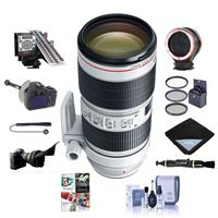 Image of Canon EF 70-200mm f/2.8L IS III USM AutoFocus Telephoto Zoom Lens - USA - Bundle With LensAlign MkII Focus Calibration System, FocusShifter DSLR Follow Focus, Peak Lens Changing Kit Adapter, And More