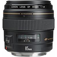 Image of Canon Canon EF 85mm f/1.8 USM AutoFocus Telephoto Lens - Grey Market