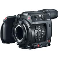 """Image of Canon EOS C200 8.85MP PL Mount 4K UHD Digital Cinema Camera Body with 4"""" LCD Touchscreen Monitor, Grip and Top Handle"""