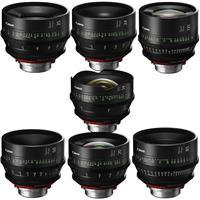 Image of Canon 7 Pack SUMIRE PRIME CN FP X (PL Mount) Lenses Kit / CN-E14mm T3.1 / CN-E20mm T1.5 / CN-E24mm T1.5 / CN-E35mm T1.5 / CN-E50mm T1.3 / CN-E85mm T1.3 / CN-E135mm T2.2 , FP X (PL Mount) Lenses