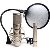 Image of CAD Audio GXL3000 Studio Pack, Includes GXL3000 Studio Microphone, GXL1200 Studio Microphone, EPF15A Pop Filter, Shock Mount and Mic clip
