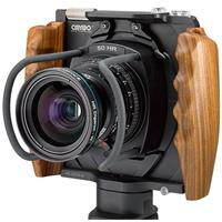 Image of Cambo WRS-1250 Camera Body with Wooden Handgrips