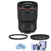 Image of Canon RF 15-35mm f/2.8 L IS USM Zoom Lens - Bundle With Hoya NXT Plus 82mm 10-Layer HMC UV Filter, HOYA 82mm NXT Circular Polarizer Filter, Cleaning Kit, Microfiber Cloth