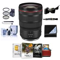 Image of Canon RF 24-70mm f/2.8 L IS USM Zoom Lens - Bundle With Flex Lens Shade, 82mm FIlter Kit, Lens Wrap, Cleaning Kit, Cpaleash II, Lens Cleaner, Mac Software Package
