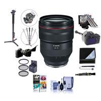 Image of Canon RF 28-70mm f/2 L USM Zoom Lens USA Warranty - Bundle With 95mm Filter Kit, Flex Lens Shade, LENSALIGN MkII Focus Calibration System, FocusShifter DSLR Follow Focus, Monopod, Software, And More