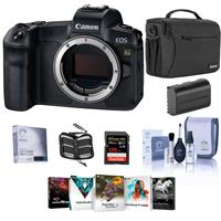 Canon EOS Ra Mirrorless Digital Camera - Bundle With Shoulder Bag, 128GB SDXC Card, Spare Battery, Cleaning Kit, Memory Wallet, Screen Protector, PC Software Package