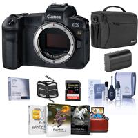 Canon EOS Ra Mirrorless Digital Camera - Bundle With Shoulder Bag, 128GB SDXC Card, Spare Battery, Cleaning Kit, Memory Wallet, Screen Protector, Mac Software Package