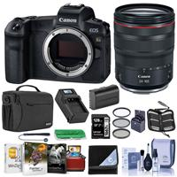 Canon EOS Ra Mirrorless Digital Camera With Canon RF 24-105mm f/4 L IS USM Lens Bundle With 128GB SDXC Card, Shoulder Bag, 72mm Filter Kit, Spare Battery, Lens Wrap, Mac Software Package, And More