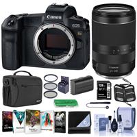 Canon EOS Ra Mirrorless Digital Camera - With Canon RF 24-240mm f/4-6.3 IS USM Lens - Bundle With 128GB SDXC Card, Shoulder Bag, 72mm Filter Kit, Spare Battery, Lens Wrap, Softwae Package, And More