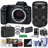Canon EOS Ra Mirrorless Digital Camera With Canon RF 24-240mm f/4-6.3 IS USM Lens - Bundle With 128GB SDXC Card, Shoulder Bag, 72mm Filter Kit, Spare Battery, Lens Wrap, Mac Softwae Package, And More