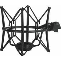 Cascade Microphones New Fat Head II Shockmount for Large-Body Microphones, Black